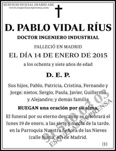 Pablo Vidal Ríus